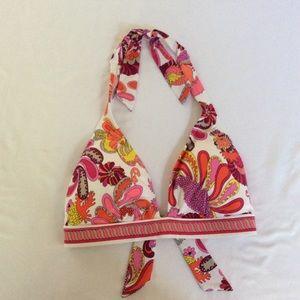 Trina Turk Tropical Triangle Swimwear Bikini Top D